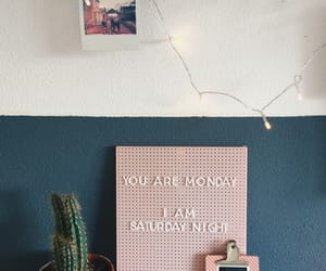 cactus, goals, and stationery image