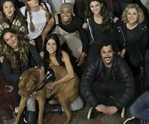 cast, marie avgeropoulos, and the 100 image