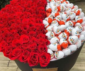 kinder, red, and roses image