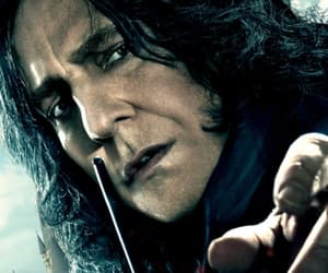 alan rickman, deathly hallows, and harry potter image