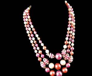 pink colors, etsy, and multi strand image
