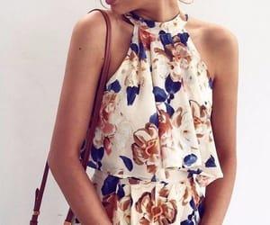 blue, white, and fashion image