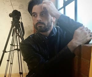 beard, daddy, and fuck image
