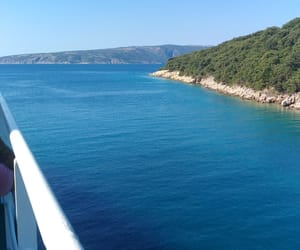 blue, europe, and ferry image