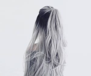 hair, hairstyle, and lon hair image