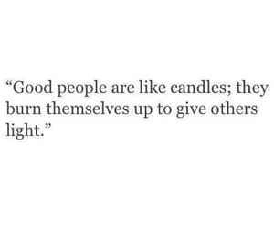 quotes, candle, and people image