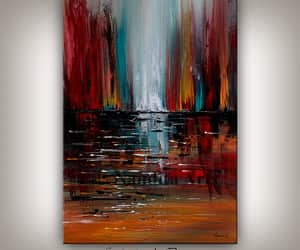 Abstract Painting, contemporary art, and etsy image