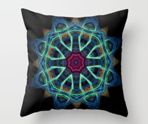 art, fractal, and pillow image