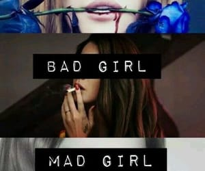 bad girl, mad girl, and sad girl image