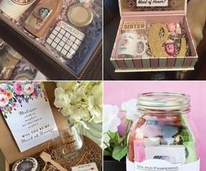 bath salts, bridesmaid, and coffee image