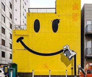 graffiti, keep, and smile image