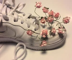 90s, fashion, and flowers image