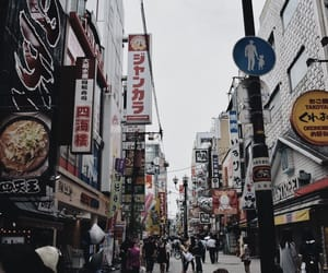city, japan, and nice place image