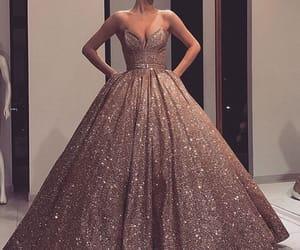 dress and rosegold image