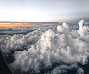 clouds, sky, and beautiful image