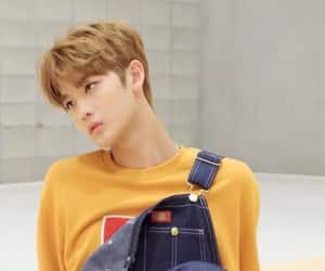 jinyoung, wanna one, and bae jin young image