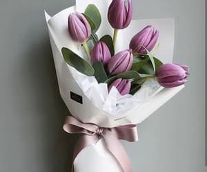 beautiful, tulips, and bouquet image