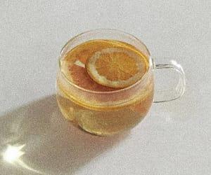 orange, soft, and tea image