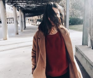 blazer, clothes, and red image