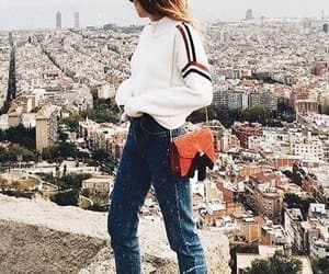 clothes, denim, and girls image