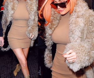 clothes, dress, and orange hair image
