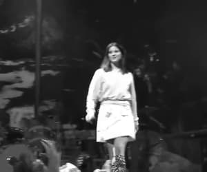 black and white, gif, and live image