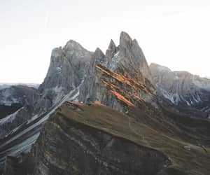 mountains, nature, and beauty image
