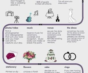 boquet, dress, and flow image