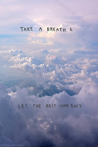 clouds, quotes, and sky image