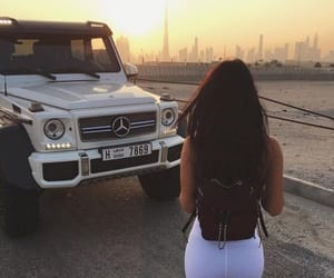 luxury, girl, and car image