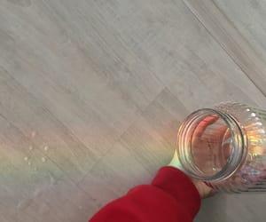 colorful, jar, and rainbow image