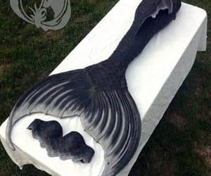 black, mermaid, and sereia image