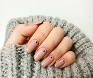 manicure, girl, and pink image