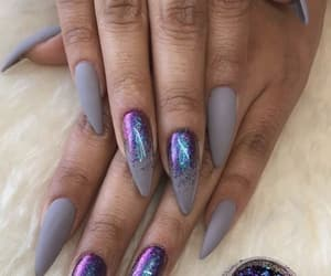chromatic, chrome, and nails image