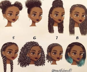 hair, art, and melanin image
