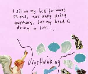 day dreaming, overthinking, and night thinker image