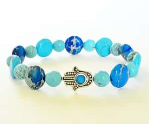 etsy, gift for her, and beaded bracelet image