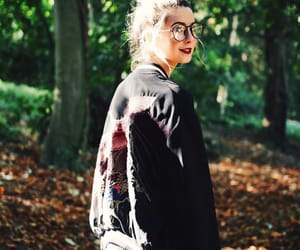 beautiful, zoella, and forest image