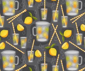 background, fruit, and lemonade image