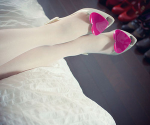 shoes, heart, and Melissa image