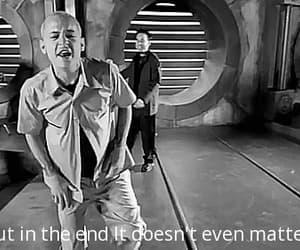 gif, chester bennington, and linkin park - in the end image
