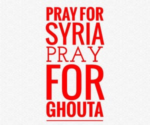 pray, remember, and syria image