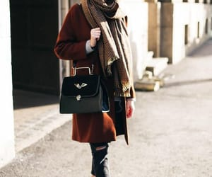 coat, fashion, and winter image