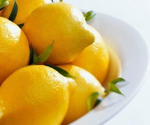 food, lemon, and yellow image