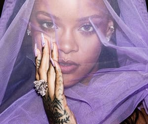 rihanna, fenty, and purple image