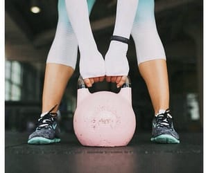 fitness, pink, and girl image
