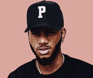art, hip hop, and illustration image