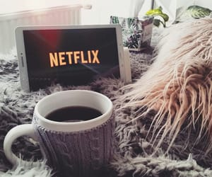 bed, coffee, and Lazy image
