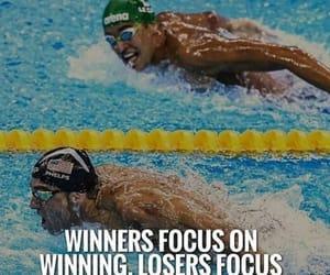 Michael Phelps and swim image