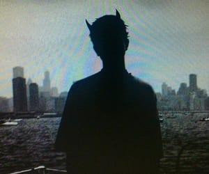 boy, Devil, and demon image